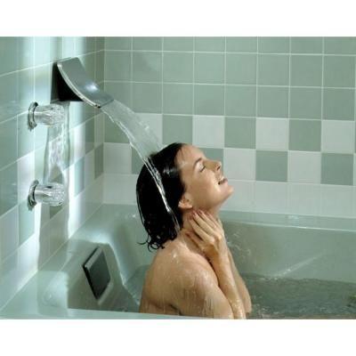 KOHLER Souris Wall Mount Sheet Flow Non Diverter Bath Spout in