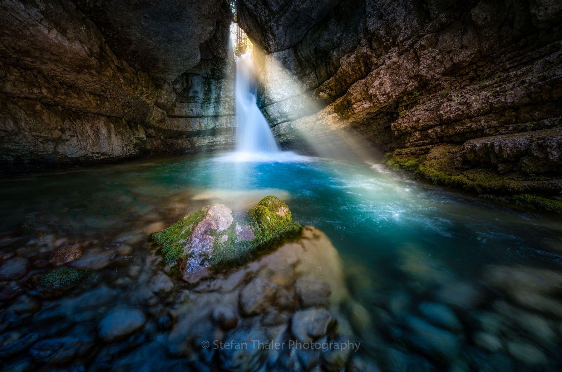 blue cave / 500px