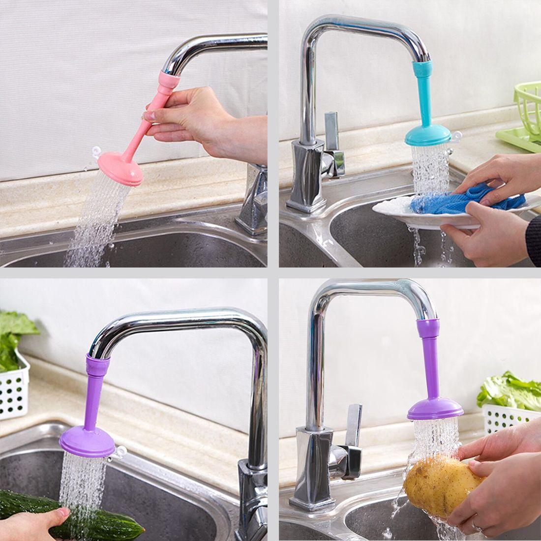 Bath Shower Water-saving Tap Splash Head Nozzle Faucet Regulator Shower Faucet Z