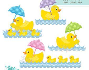 1 dollar verkoop Ducky Clipart Rubber Ducky door wonderdigi