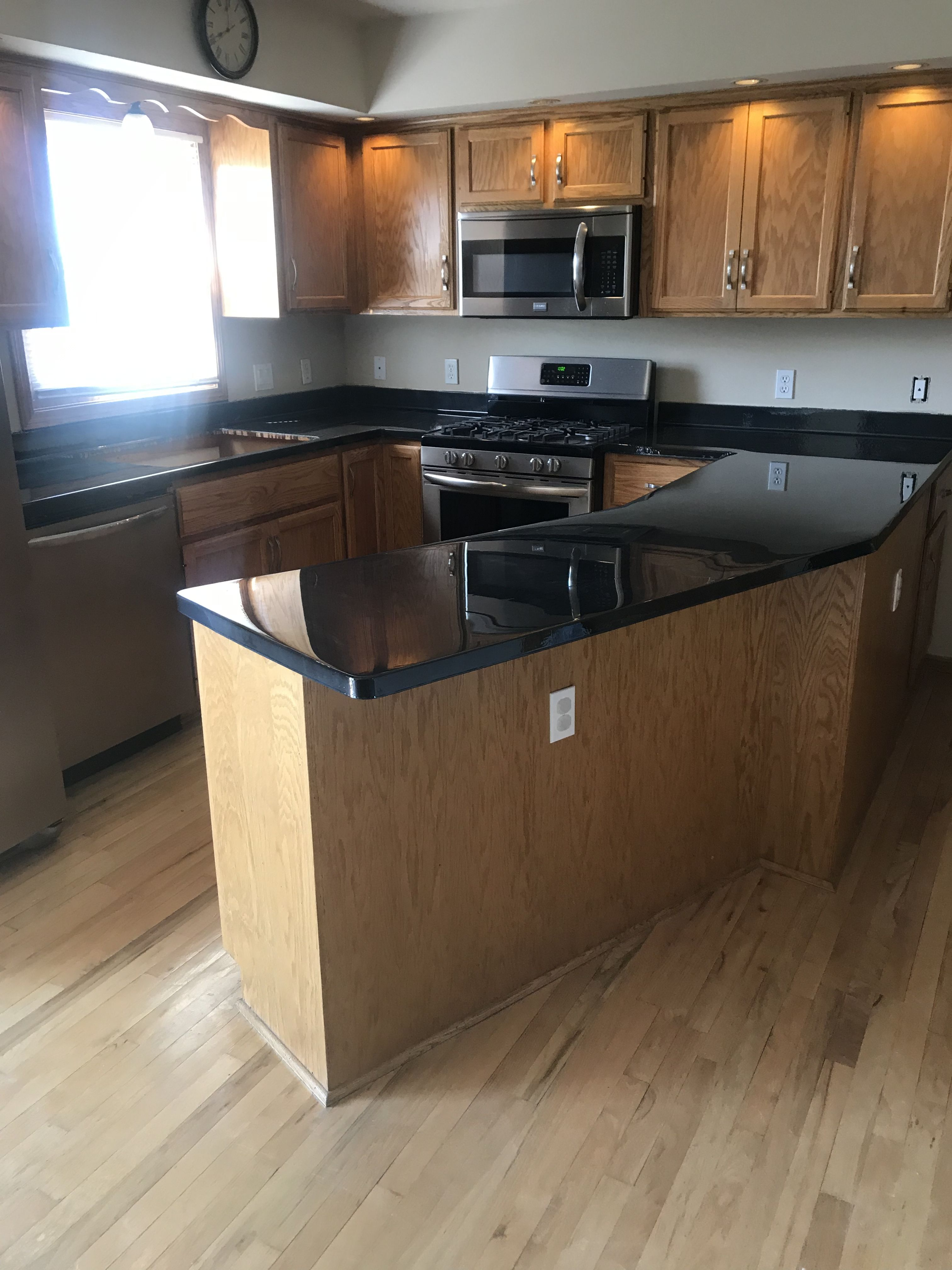 LBV Countertops. Painted then Epoxied with Countertop ...