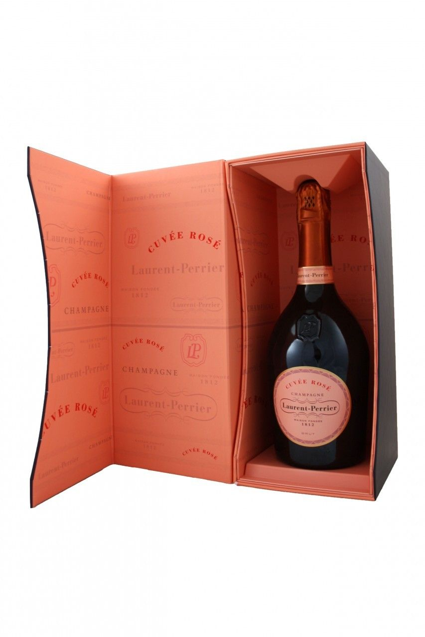 Buy Laurent Perrier Cuvee Rose Brut From Frazier S Wine Merchants Bottle Packaging Champagne Gift Wine And Spirits
