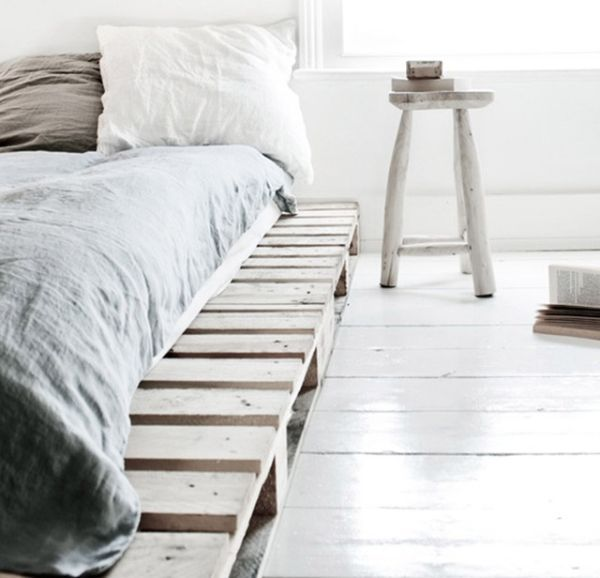 Pallet Addicted 30 Bed Frames Made Of Recycled Pallets Mobel