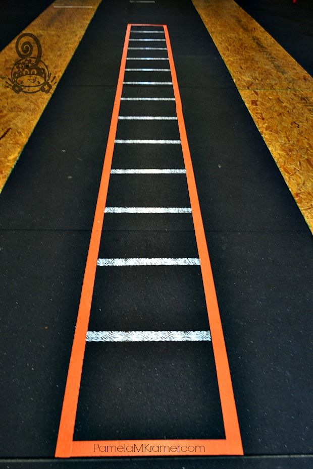 Diy Agility Ladder Diy Gym Equipment At Home Gym No Equipment Workout