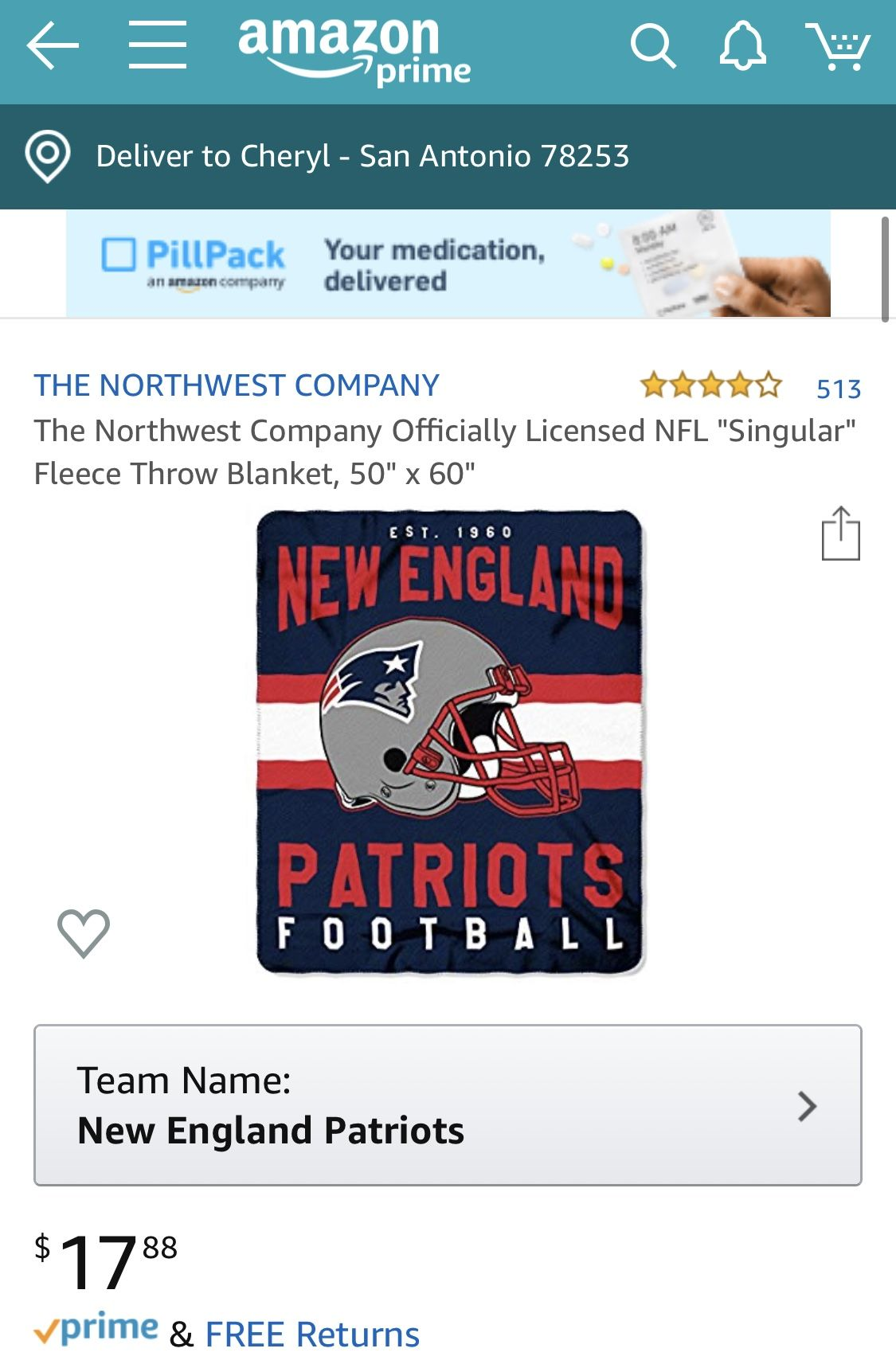 Pin By Cheryl Dalros On Gift Ideas Football Team Names Patriots