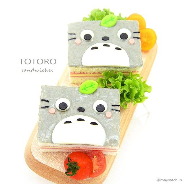 A grey food post to match my new image ❤ Also, reason for this super late post is because I was busy with another bento (shall post in a while) so keep your eyes peeled!! #bento #obento #charaben #characterbento #kyaraben #foodart #cutefood #totoro