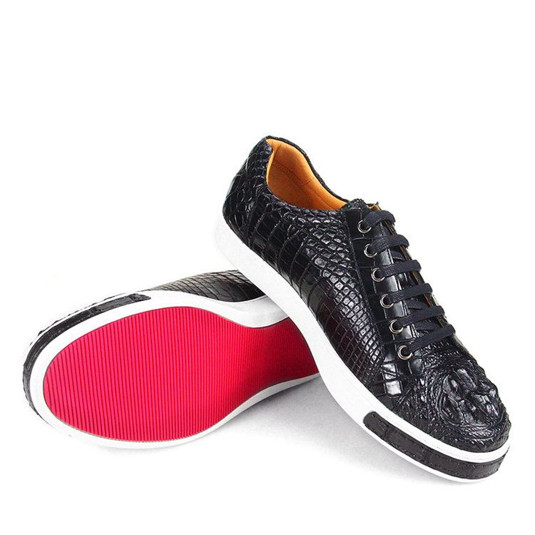 0c912e53a4 Fashion Genuine Crocodile Leather Shoes in 2019 | Alligator Shoes ...
