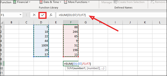 How To Calculate The Sum Of Cells In Excel In 2021 Excel Calculator Cell