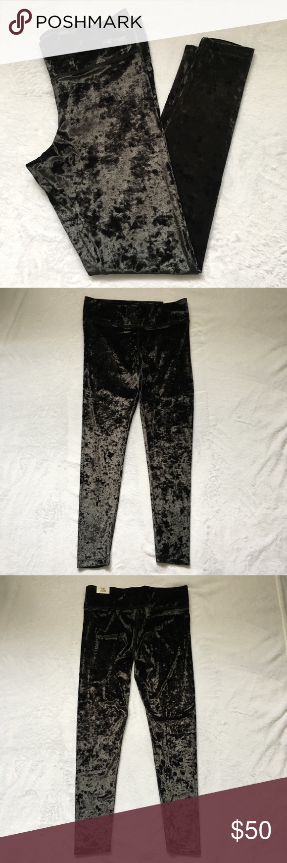 2be16b99864b1 NWT Pink VS Velvet Leggings NWT Pink Victoria's Secret Ultimate Flat Velvet  Leggings. Brand new. Tag is attached. - measurements approx.
