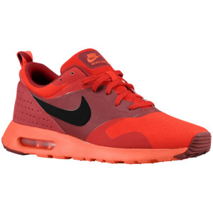 Nike Men's Red Red Black Air Max Tavas Sneakers university Team Timeless Classic