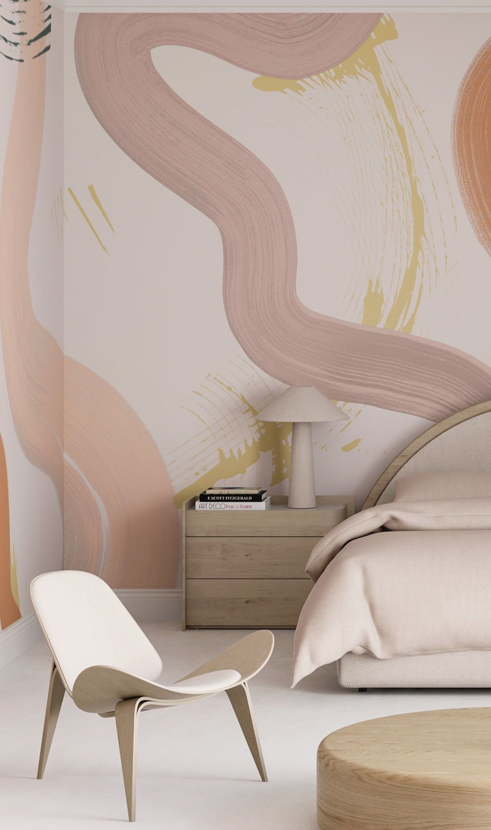 drop it MODERN - Modern and contemporary interior designed wallpaper for the studio and home.