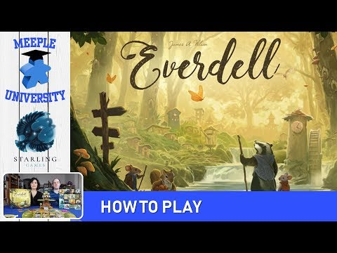 Everdell Board Game How to Play & Setup (Full Rules