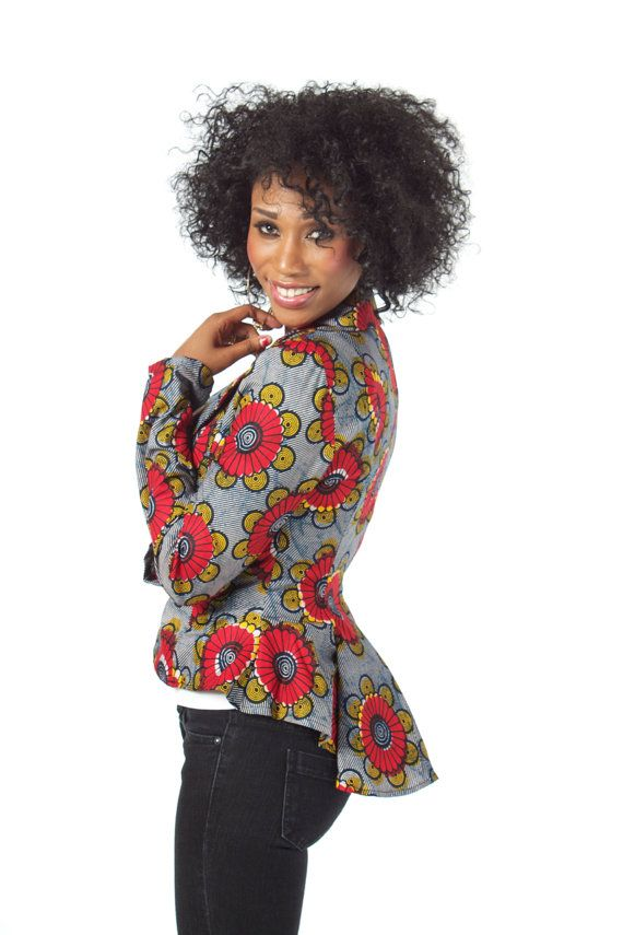 African Print Blazer. #Africanfashion #AfricanClothing #Africanprints #Ethnicprints #Africangirls #africanTradition #BeautifulAfricanGirls #AfricanStyle #AfricanBeads #Gele #Kente #Ankara #Nigerianfashion #Ghanaianfashion #Kenyanfashion #Burundifashion #senegalesefashion #Swahilifashion DKK