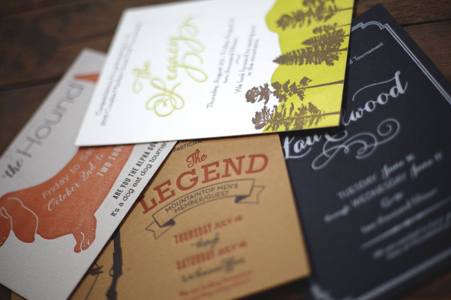 Custom Letterpress Party Invitations! Cant get enough! | Wedding ...