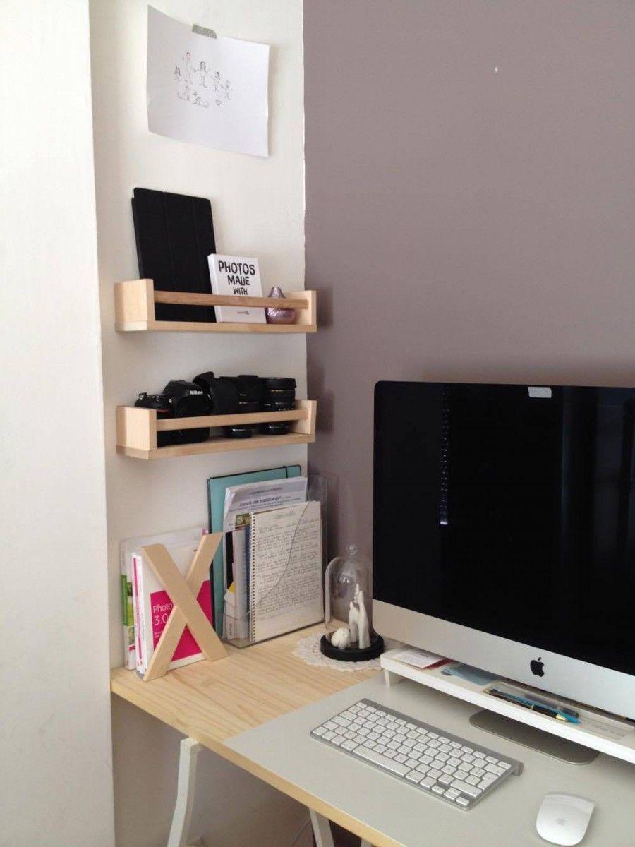 Le Bureau Presque Parfait Bureau Ikea Ikea Meuble Ordinateur