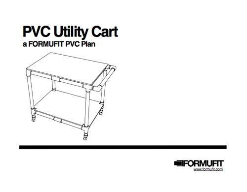 PVC Utility Cart | PVC Plan Fridays | Pinterest | Utility cart ...