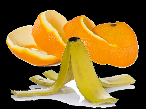 Cómo reutilizar las pieles de la fruta