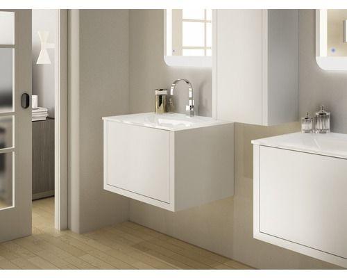 Waschtischunterschrank Baden Haus Roxanne 45x74x46 Cm Weiss Jetzt