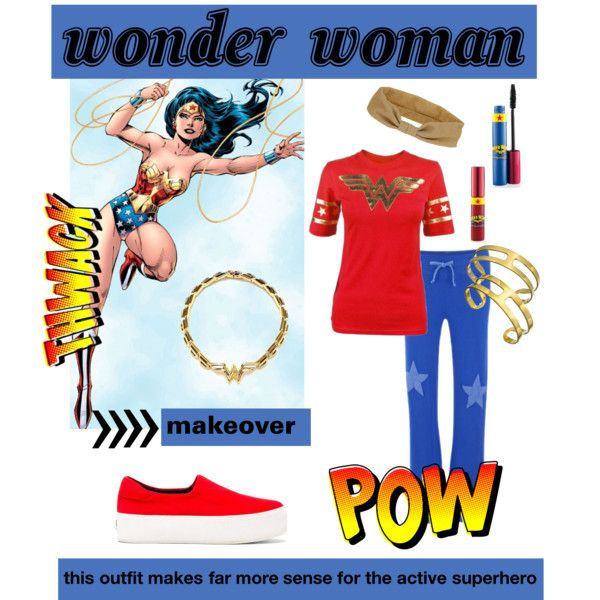 """""""Makeover: Wonder Woman"""" by christinagleason on Polyvore"""