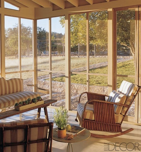 7 spectacular sunrooms and porches screened porch in texas