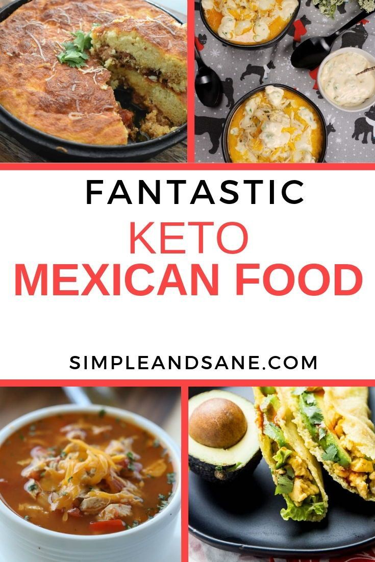 Photo of 9 Keto Mexican Recipes You'll Be Sure to Love (and cook a lot!)