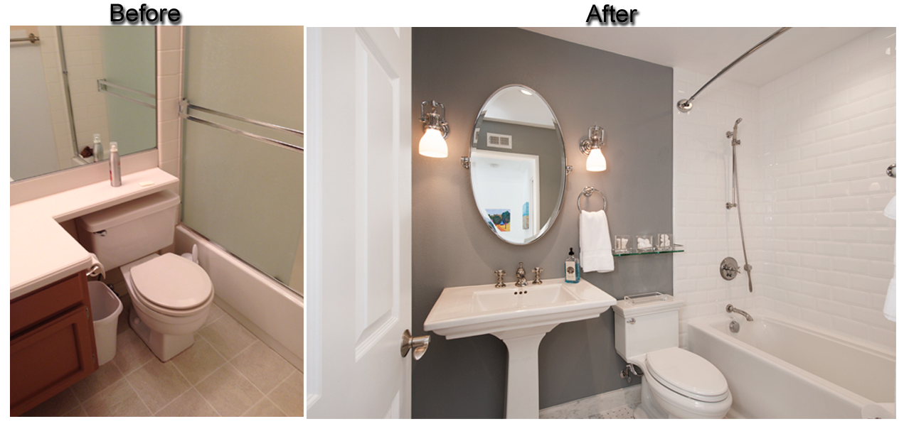 Small Bathroom Remodels Before And After  Google Search Enchanting Before And After Small Bathrooms 2018