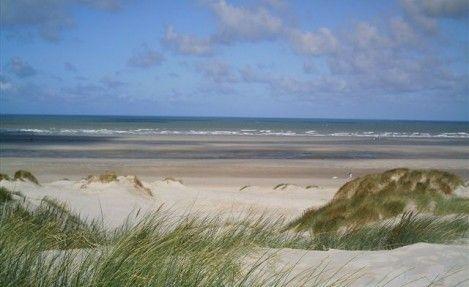 Dunes De Stella Merlimont Baie De Somme Beach France