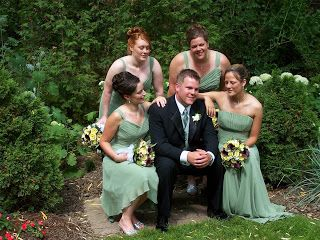 bridal party on stairwell - Google Search