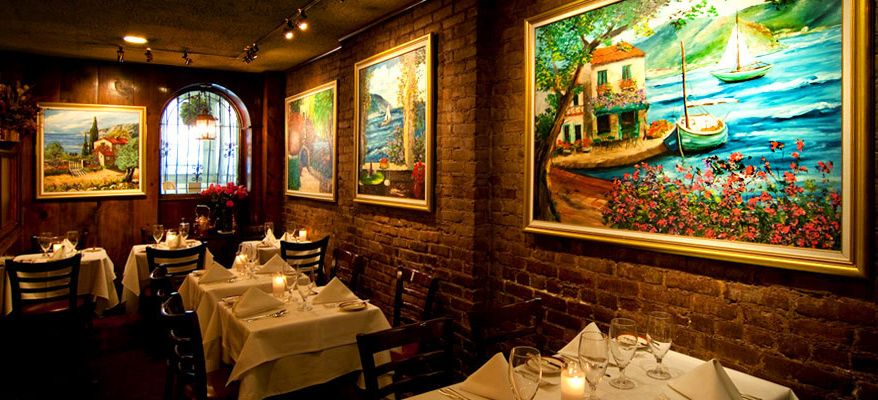 Le Rivage Restaurant French Restaurants Nyc French
