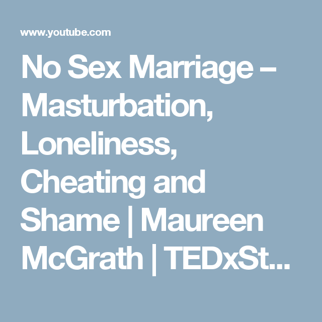 No Sex Marriage Divorce