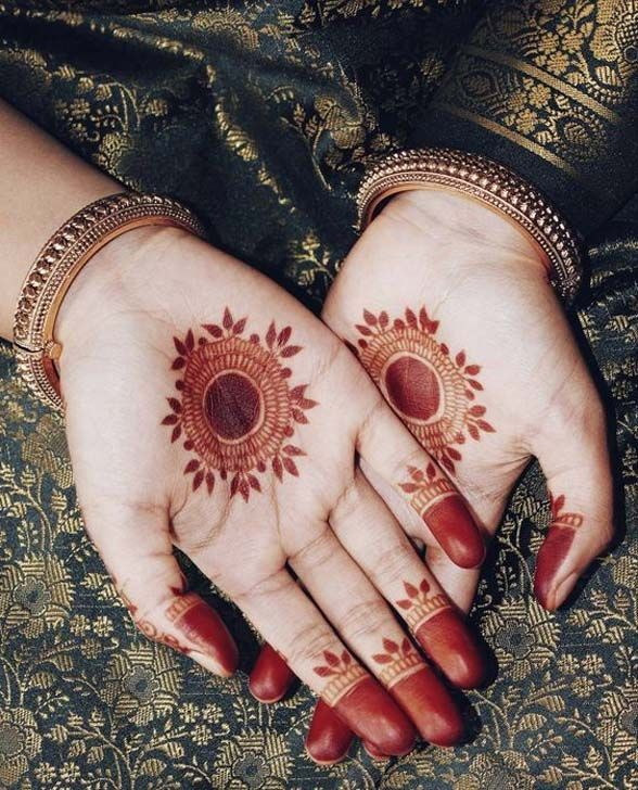 Mehndi designs that are simple but beautiful also bridal henna rh pinterest