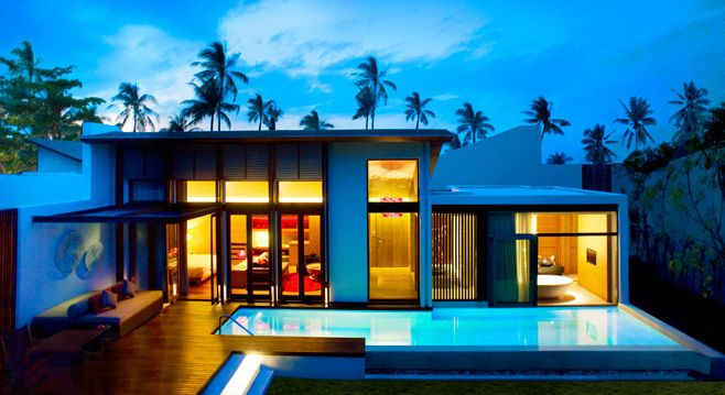 Thailand's W Retreat Koh Samui - has been my dream vacation spot since it opened!