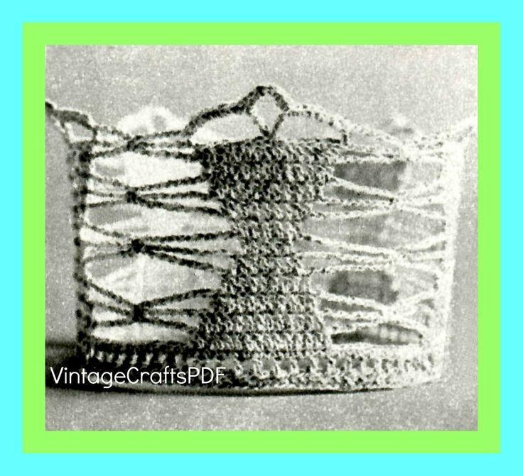 1970s Coronet Brides Hour Glass Vintage Crochet Pattern Tiara Wedding Keepsake Bridal Shower  1970s Coronet Brides Hour Glass Vintage Crochet Pattern Tiara Wedding Keepsa...