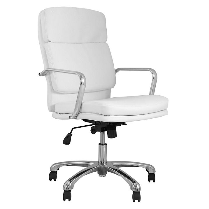 John Lewis Amy Office Chair, White