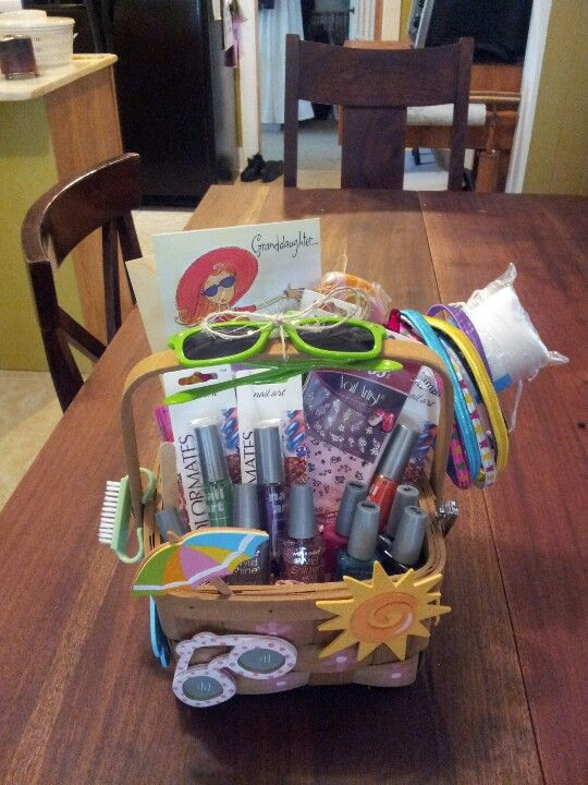 Birthday Basket For An Adorable 11 Year Old Little Girl Her