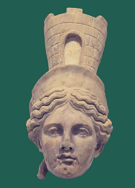 Sevilla Archaeological Museum - Tyche Fortuna from Italica by petrus.agricola, via Flickr