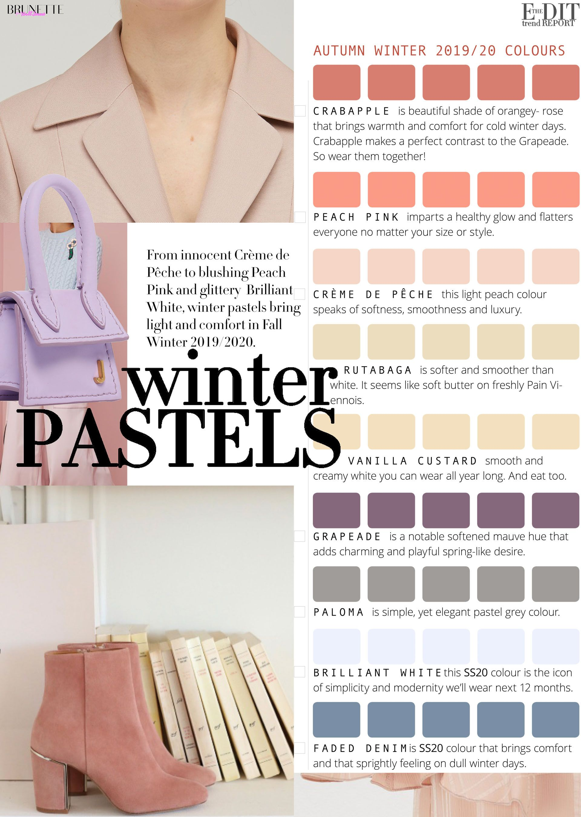 Color Street Winter 2020.2019 20 Fall Winter Color Trends Fashion Trends Street