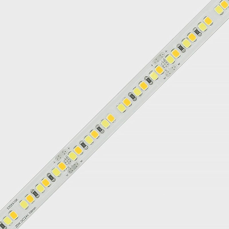 20w Tunable White 2700k To 5700k Led Strip 2835 24v With Images