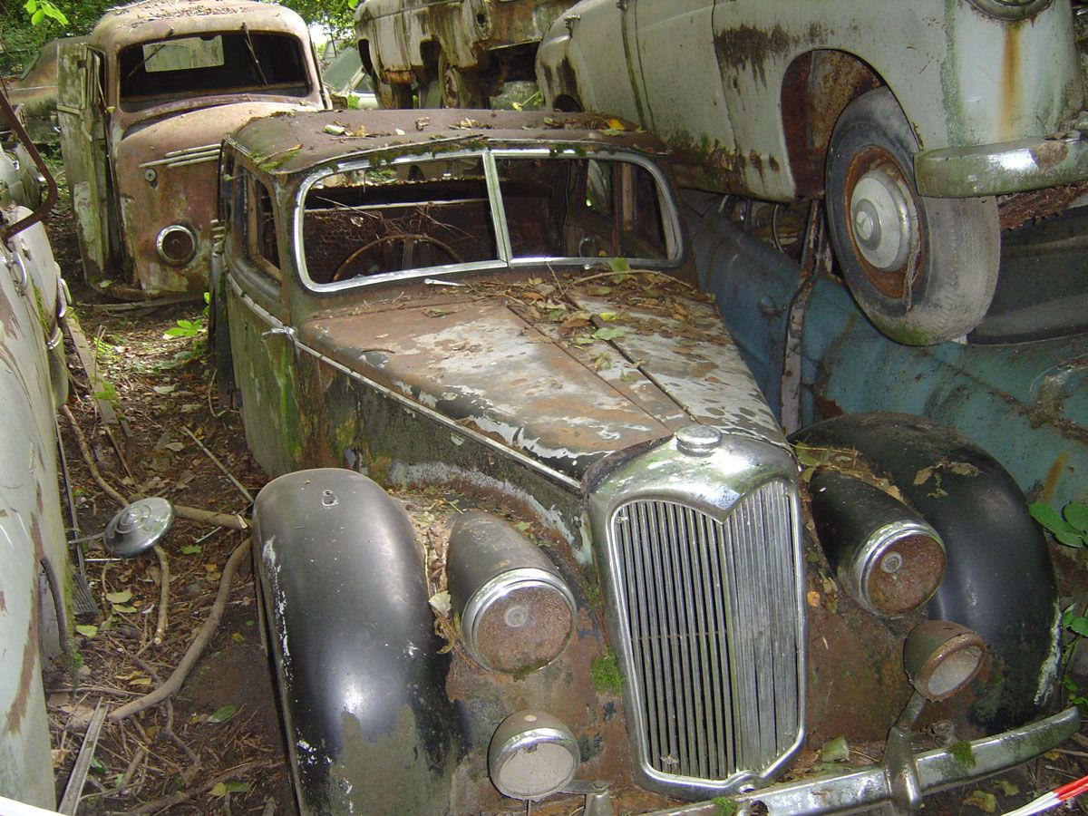 Old Abandoned Cars In Switzerland