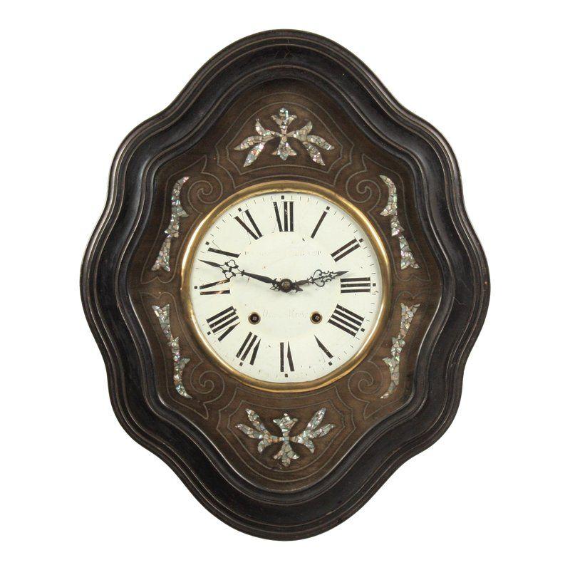 19th C French Napoleon Iii Wall Clock Wall Clock Clock French Wall Clock