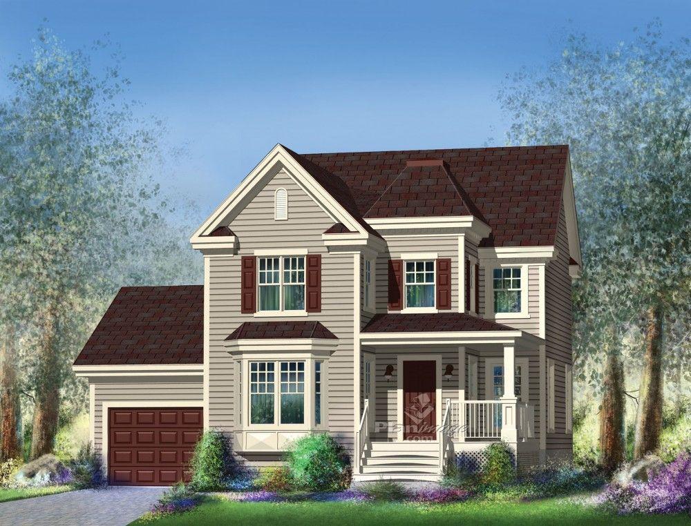 Lu0027apparence de cette ravissante maison à étage au revêtement d