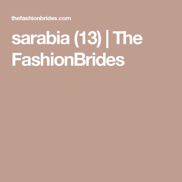 sarabia (13) | The FashionBrides
