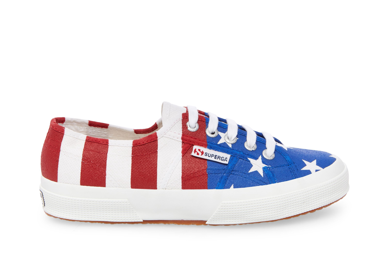 Superga Usa White Shoes Mens