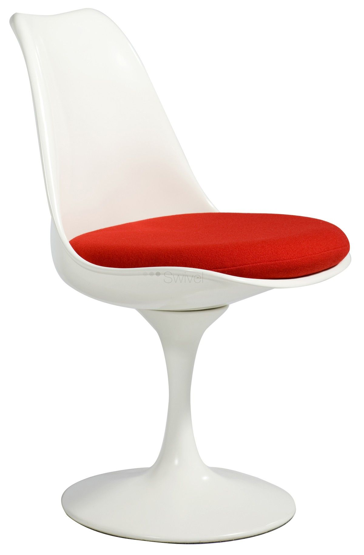Lovely Tulip Style Chair Fibreglass: Eero Saarinen Style Designer Tulip Style Chair  Fibreglass Finest Quality Materials Just From Swivel UK: Buy Online Now:  Fast ...
