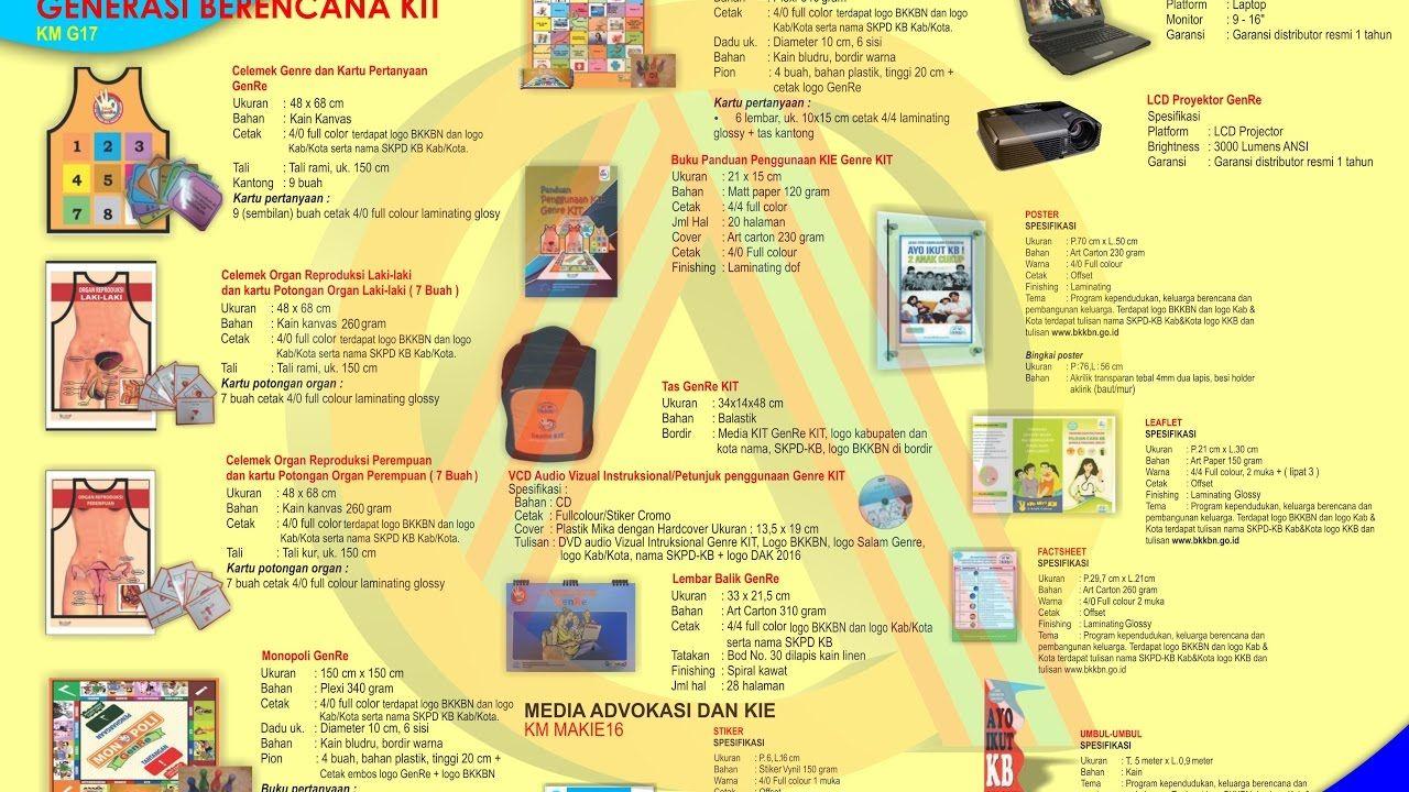 Genre Kit Bkkbn 2017 Produk Dak Hp0877 8252 7700 Kantong Mika