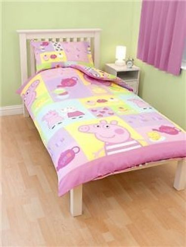 Peppa Pig Cupcake Single Size Doona Quilt Cover Set Available At Kids Mega Mart Australia