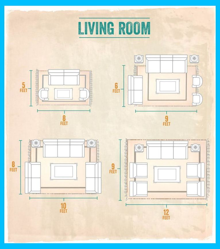 20 Smart Practical Home Decor Tips Our Readers Actually Swear By All Carpet Living Room L Livingroom Layout Small Room Design Living Room Rug Size