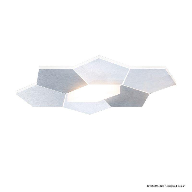 Applique Ou Plafonnier Design Grossmann Linde En Aluminium Lampes