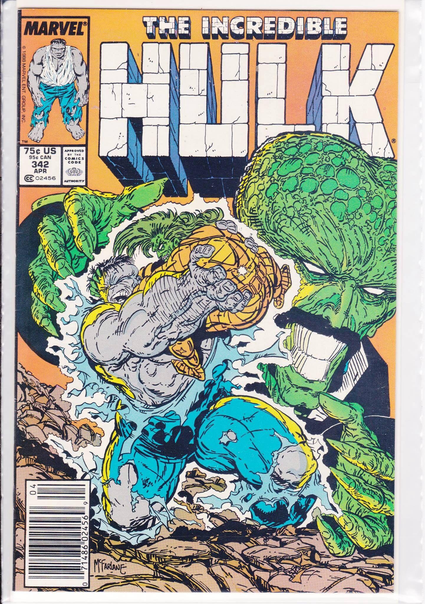 Todd mcfarlane hulk 342 cool comic book covers 2 pinterest todd mcfarlane hulk 342 fandeluxe Image collections