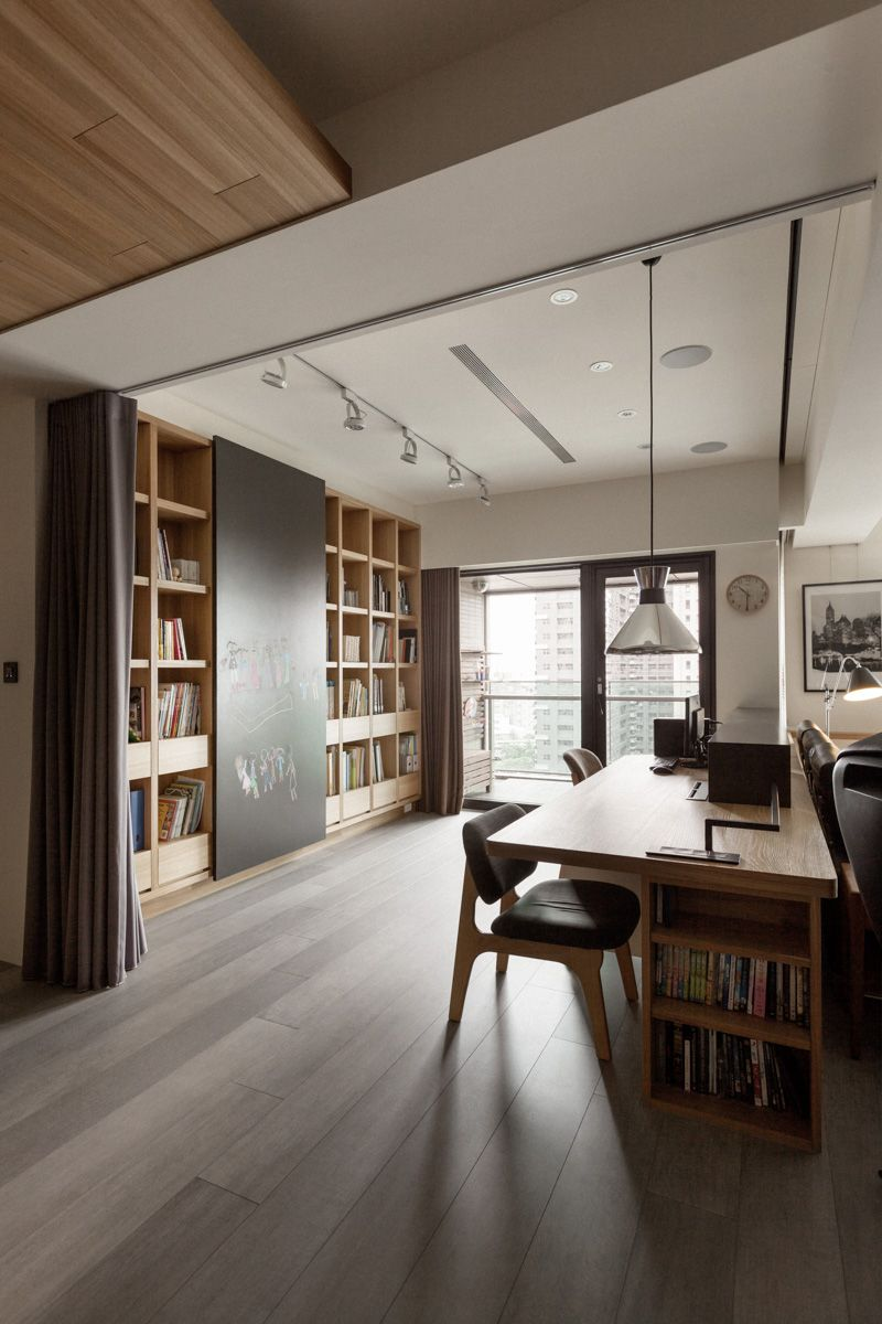 PartiDesign Creates Spacious Open-Concept Apartment Using
